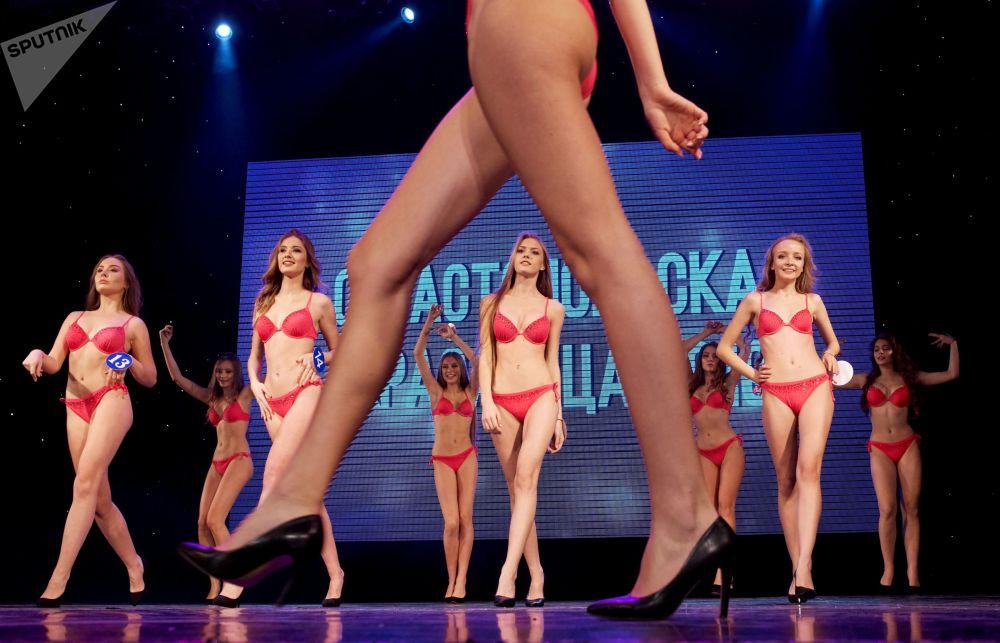المتأهلات إلى نهائي مسابقة حسناء سيفاستوبل 2019 في سيفاستوبل، القرم، روسيا