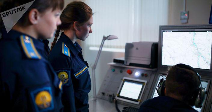 تدريبات طالبات معهد كراسنودار للطيران العسكري الروسي، كراسنودار، روسيا