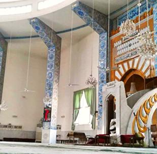 جامع الروضة في مدينة حلب السورية