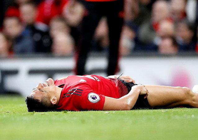 إصابة أليكسس سانشيز لاعب مانشستر يونايتد