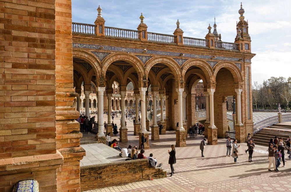 ساحة إسبانيا في إشبيلية