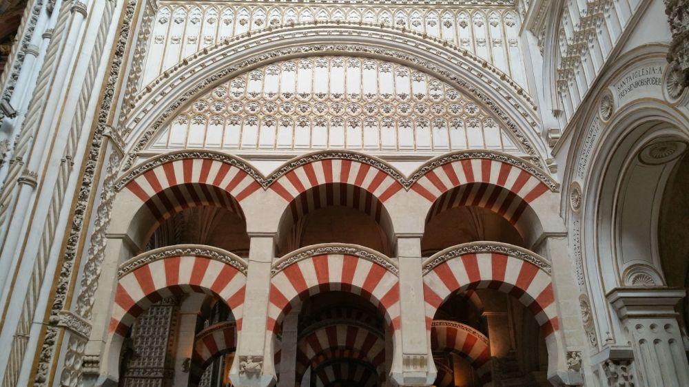 كاتدرائية - جامع قرطبة في قرطبة الأندلسية