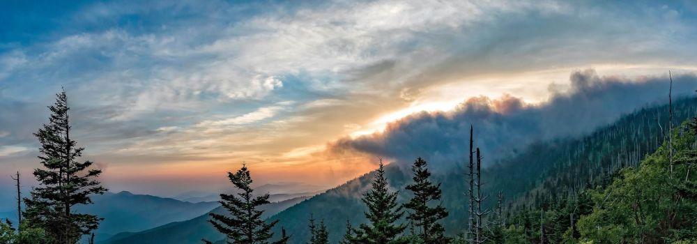 حديقة جبال غريت سموكي الوطنية في الولايات المتحدة الأمريكية