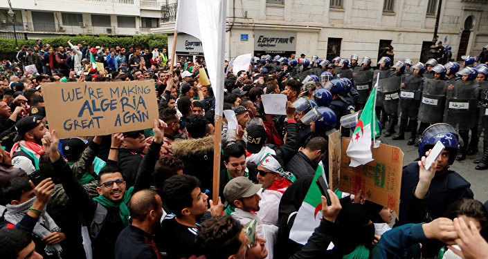 مظاهرات الجزائر ضد عبد العزيز بوتفليقة