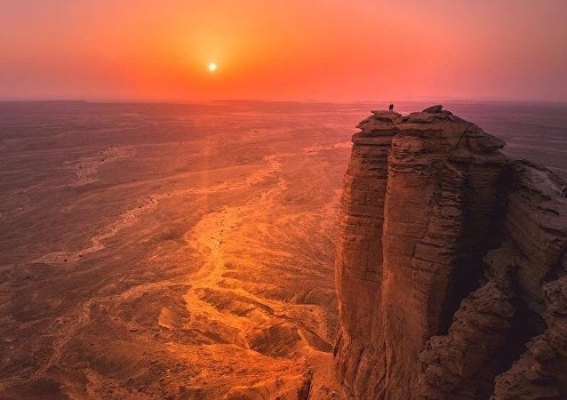 جبل الطويق في المملكة العربية السعودية