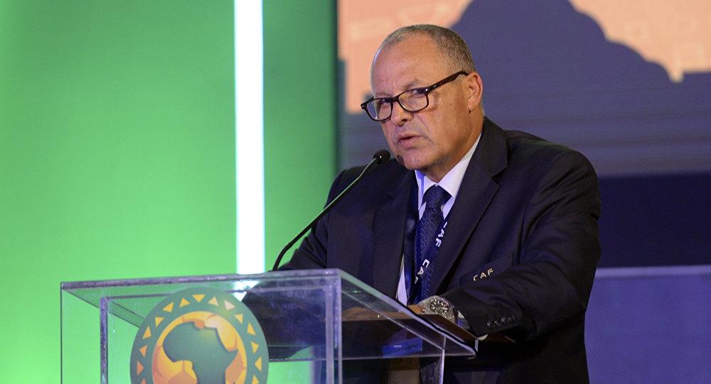 رئيس الاتحاد المصري لكرة القدم هاني أبو ريدة