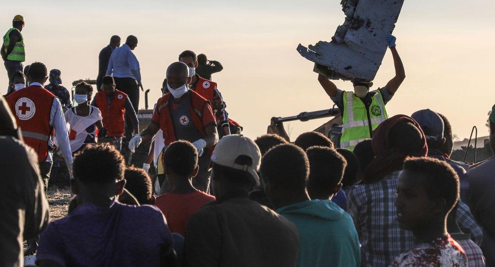 تحطم طائرة بوينغ في إثيوبيا