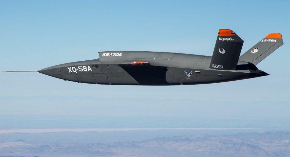 الطائرة المسيرة الأمريكية الثقيلة فالكيري