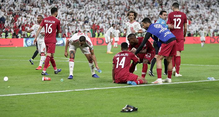 أحداث الانتهاكات التي حدثت خلال مواجهة قطر والإمارات