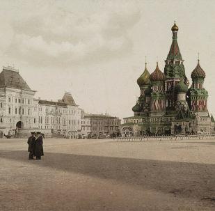 مشهد يطل على الساحة الحمراء في موسكو