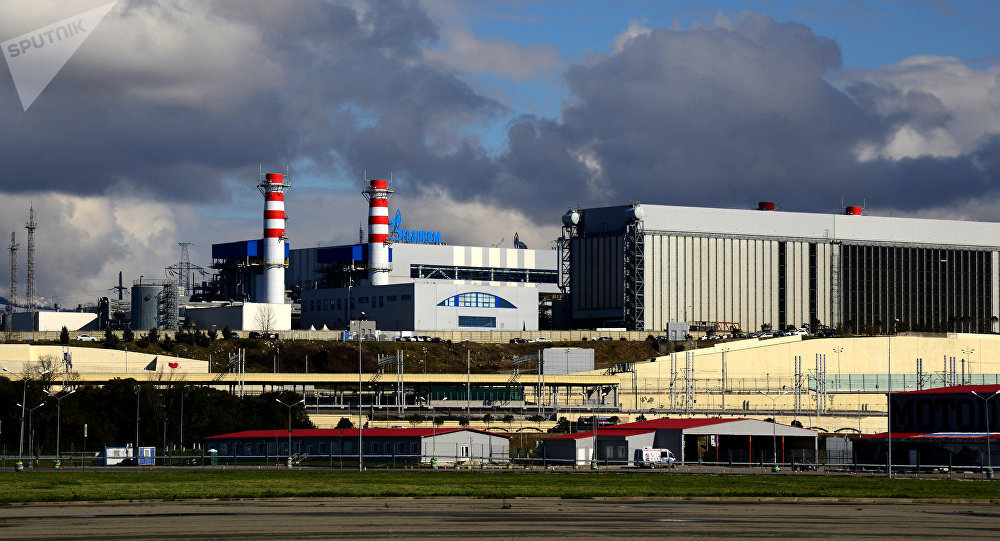 منشأة لتوليد الطاقة في شبه جزيرة القرم