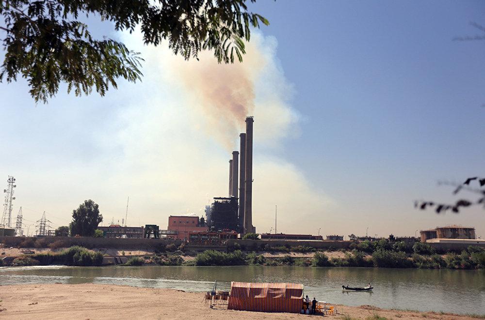 منشأة لتوليد الطاقة في بغداد