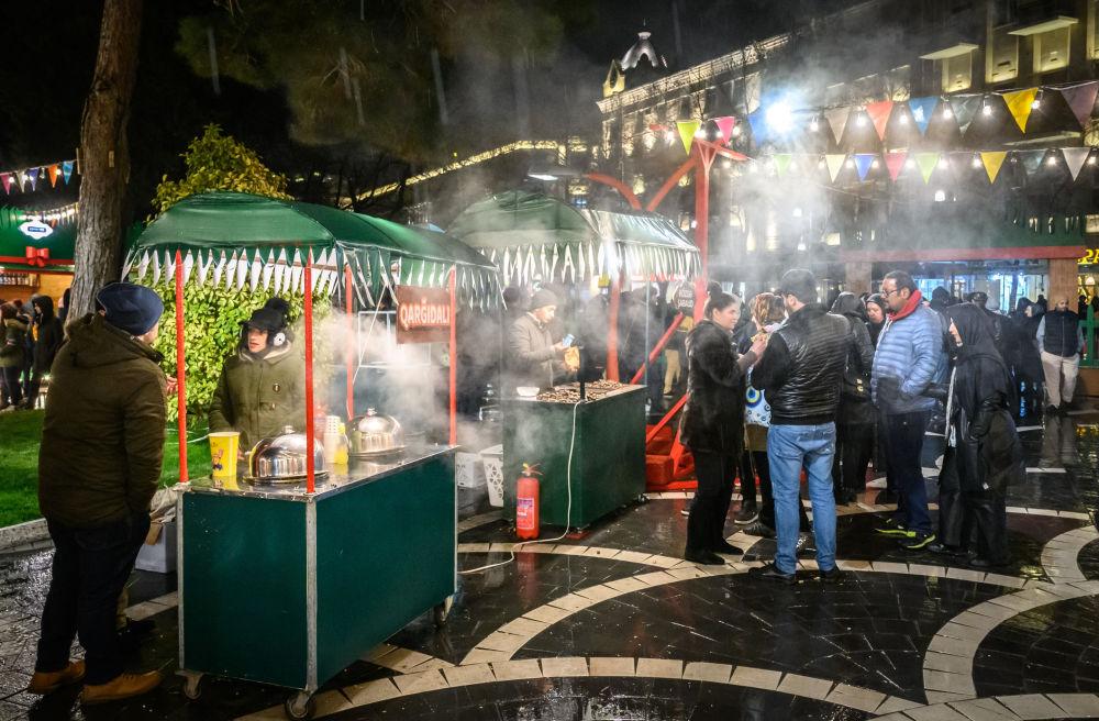 الاحتفال بعيد النوروز في باكو، أذربيجان 20 مارس/ آذار 2019