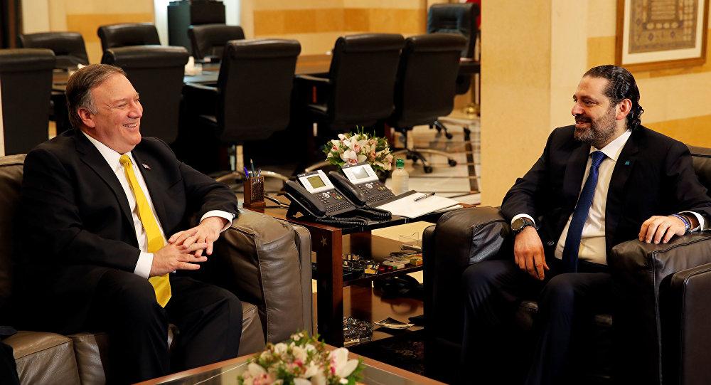 الحريري يلتقي بومبيو في بيروت