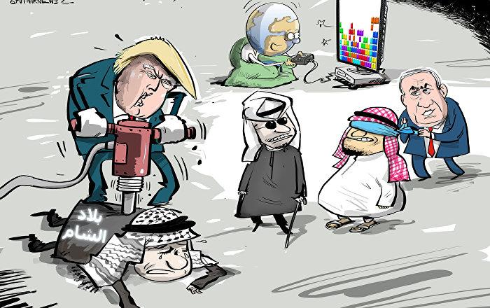 اعترافات ترامب في الشرق الأوسط