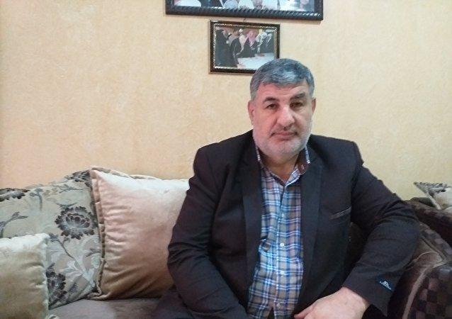 مدير مكتب شؤون الجولان في رئاسة مجلس الوزراء السوري مدحت صالح