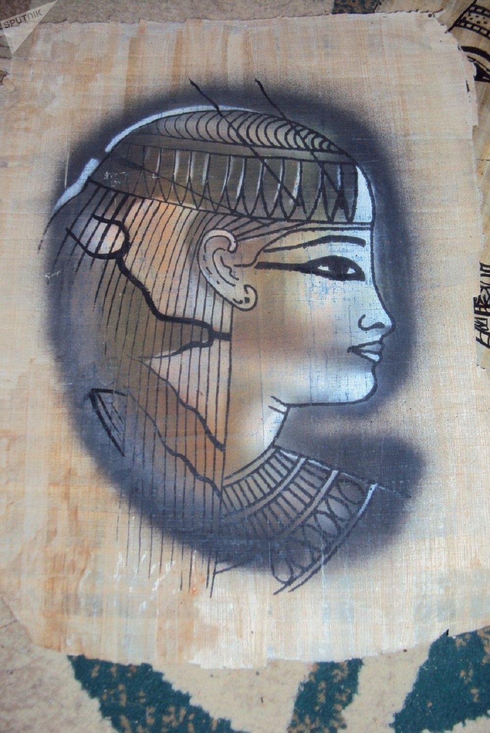 صناعة أوراق البردي في مصر