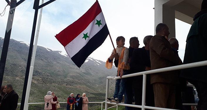 وقفة القنيطرة قرب منطقة الفصل، الجولان، سوريا 25 مارس/ آذار 2019