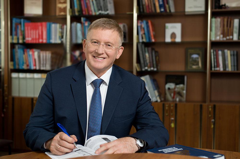 رئيس جامعة جنوب الأورال ألكسندر شيستاكوف