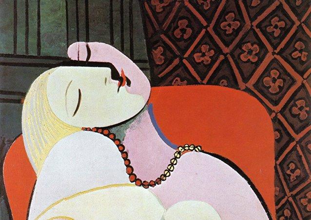 الحلم لوحة لبابلو بيكاسو عام 1932