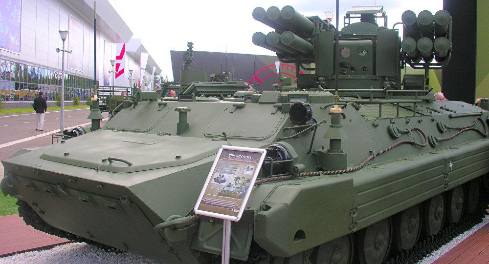 نظام الدفاع الجوي الروسية سوسنا