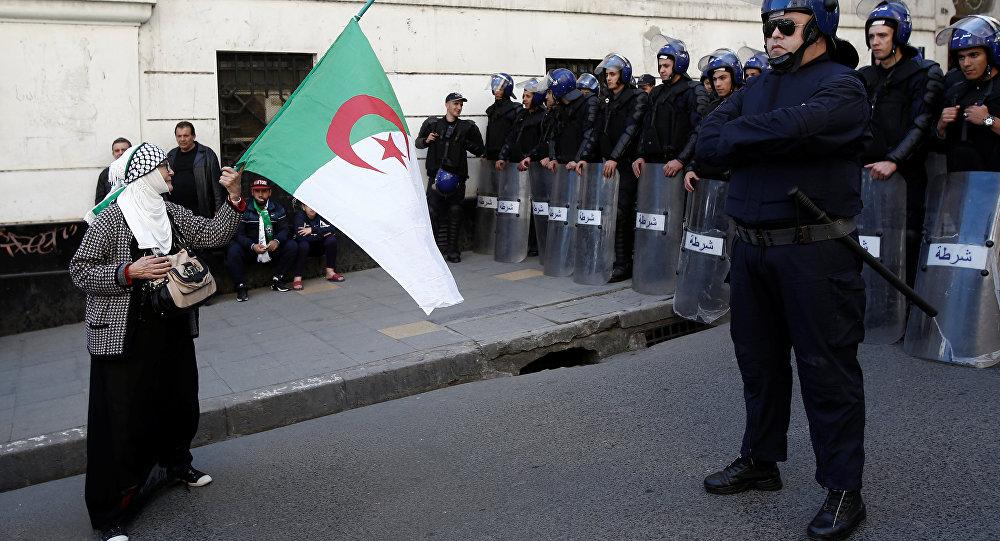 مظاهرات الجزائر