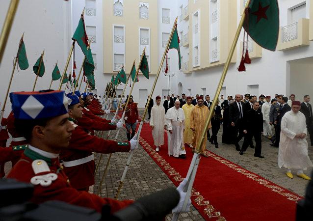 البابا فرانسيس يزور معهد الأئمة المغربي محمد السادس بالرباط