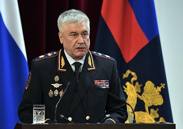 وزير الداخلية الروسي فلاديمير كولوكولتسيف