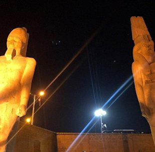 تمثال للملك رمسيس الثاني
