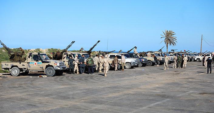قوات الجيش التابعة لحكومة الوفاق الوطني في ليبيا