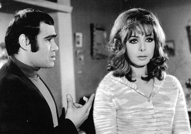 الممثلة المصرية ناهد شريف