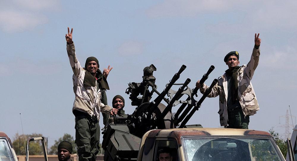 الجيش الوطني الليبي بقيادة المشير خليفة حفتر
