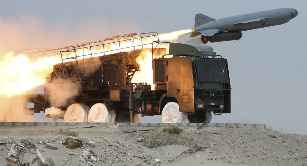 """وكالة: الحرس الثوري الإيراني يسقط طائرة """"تجسس"""" أمريكية مسيرة في إقليم هرمزجان"""