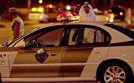 سيارة تابعة إلى الشرطة السعودية