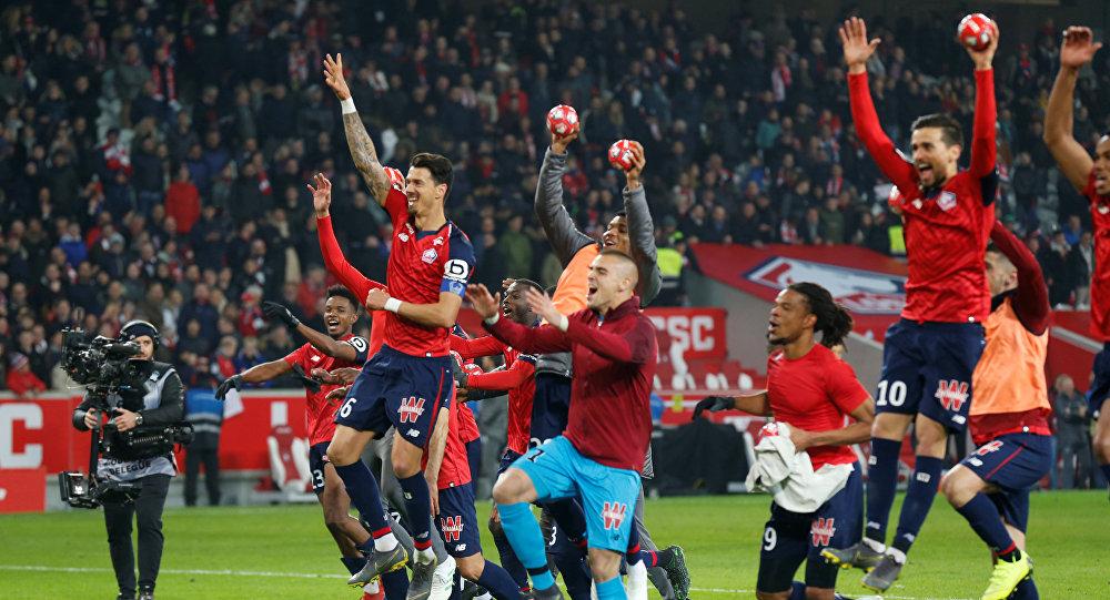 أهداف مباراة باريس سان جيرمان وليل (1-5) في الدوري الفرنسي