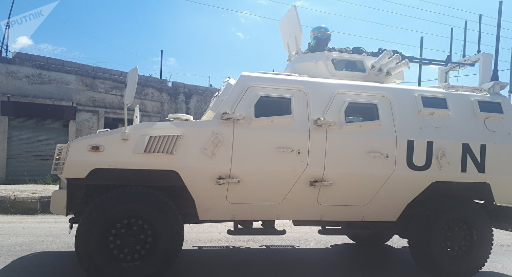 أندوف تكثف دورياتها على طول خط وقف إطلاق النار في الجولان السوري