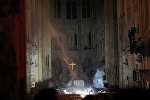 حريق كاتدرائية نوتردام أ