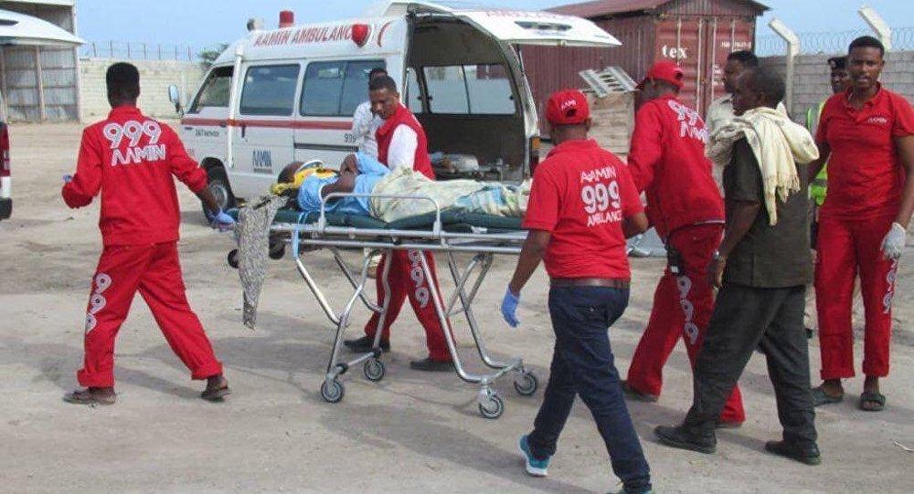 المتطوعون في خدمة الإسعاف آمين في مقديشو