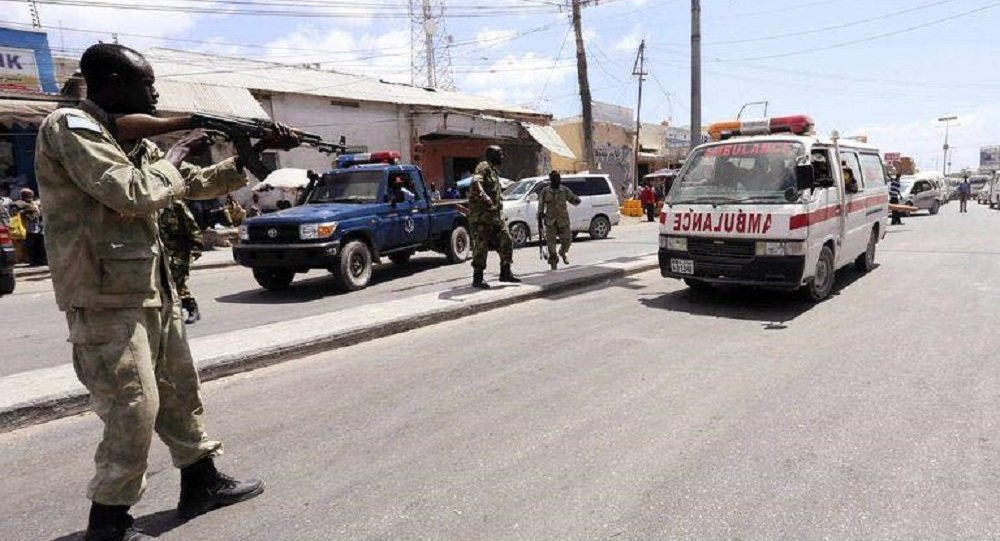 مهاجمة سيارة الإسعاف في مقديشو من قبل شرطة الحكومة الصومالية