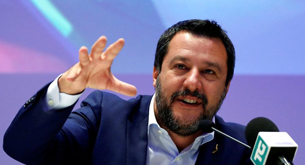 نائب رئيس وزراء إيطاليا ماتيو سالفيني