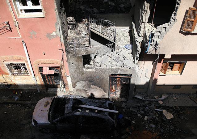 قصف طرابلس