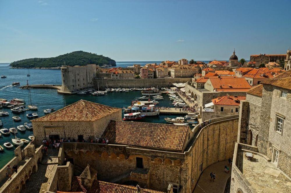 البلدة القديمة دوبروفينك، كرواتيا