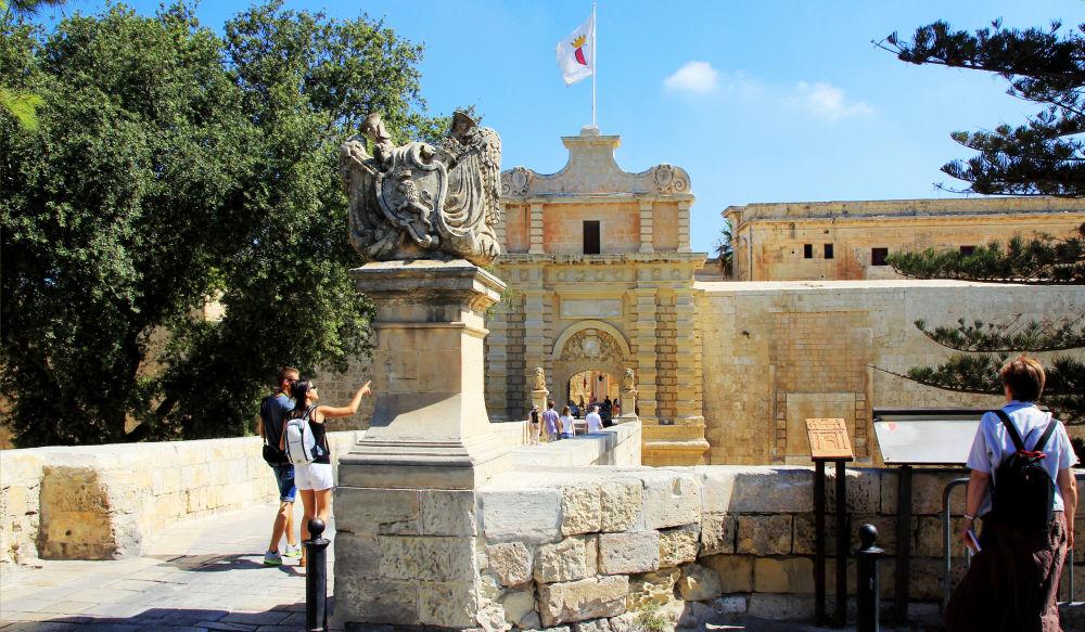 بوابة مدينا، العاصمة التاريخية لمالطا