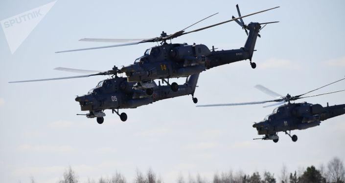 روسيا تطور مروحية هجومية مسيرة
