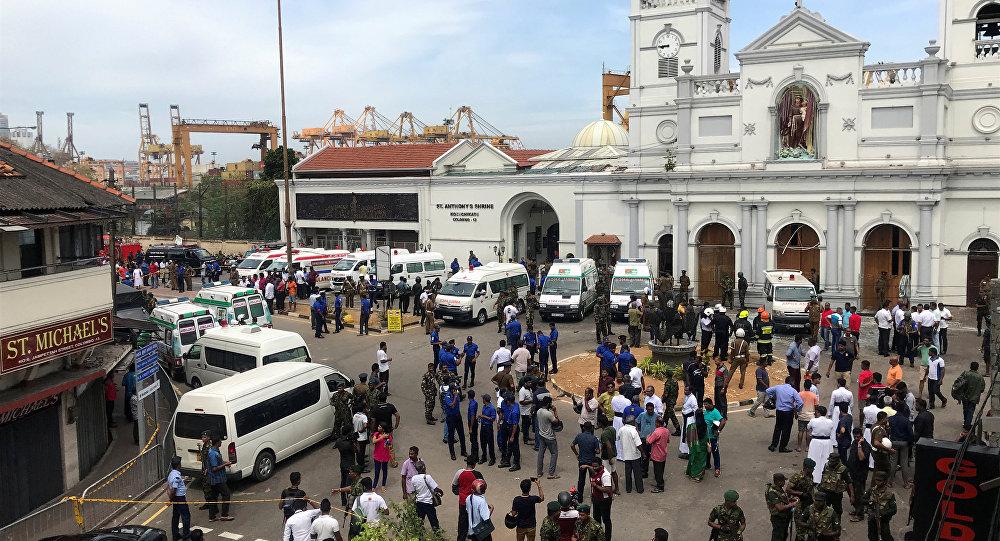 انفجارات تهز كنائس وفنادق شمالي كولومبو عاصمة سريلانكا