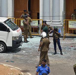 انفجارات تهز كنائس وفنادق في سريلانكا