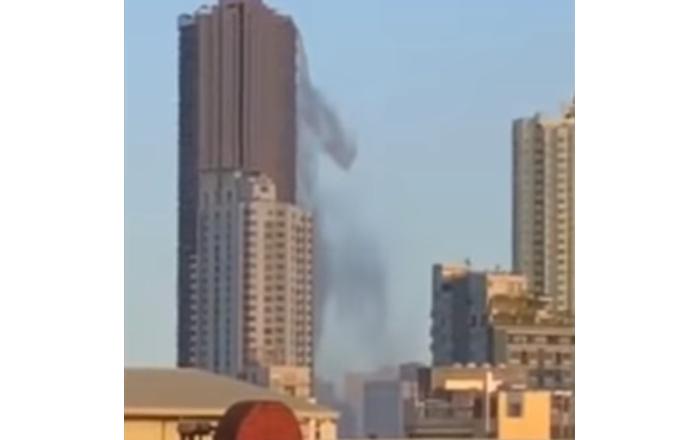 بالفيديو-زلزال-الفلبين-يتسبب-بانهيار-مسبح-على-ناطحة-سحاب