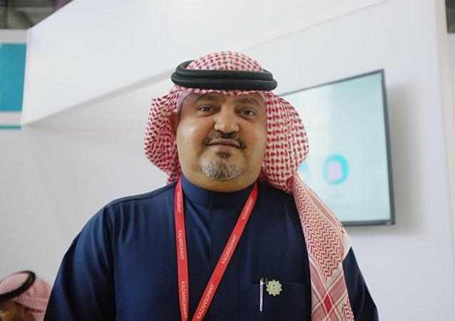 أحمد بن سعيد سلطان، مسؤول في شركة طيران ناس لخدمات المعتمرين السعودية