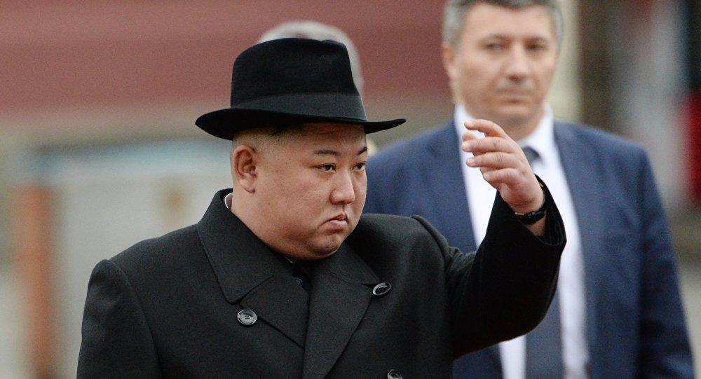 الزعيم الكوري الشمالي، كيم جون اونغ،