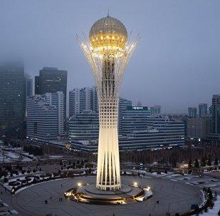 مدينة نور سلطان  في كازاخستان